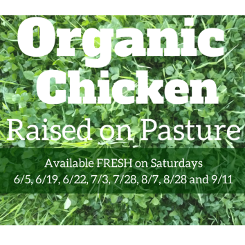Organic ChickenRaised on Pasture